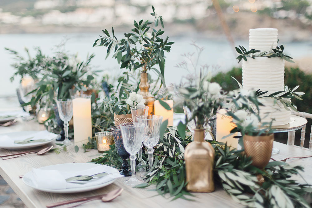 MEDITERRANEAN GARDEN WEDDING